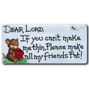 Dear Lord If You Smiley Magnet Pack Of 12