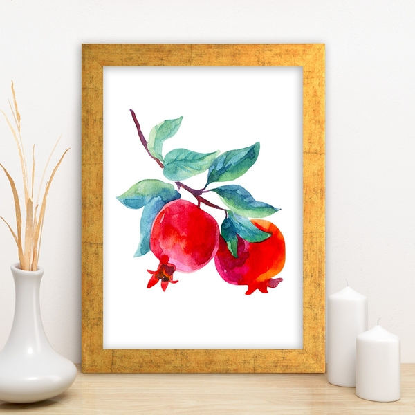 AC4173931451 Multicolor Decorative Framed MDF Painting