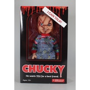 Mezco Chucky 15 Inch Scarred Figure with Sound