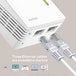 TP-LINK (TL-WPA4220T KIT) 300Mbps AV600 Wireless N Powerline Adapter Triple Kit UK Plug - Image 3