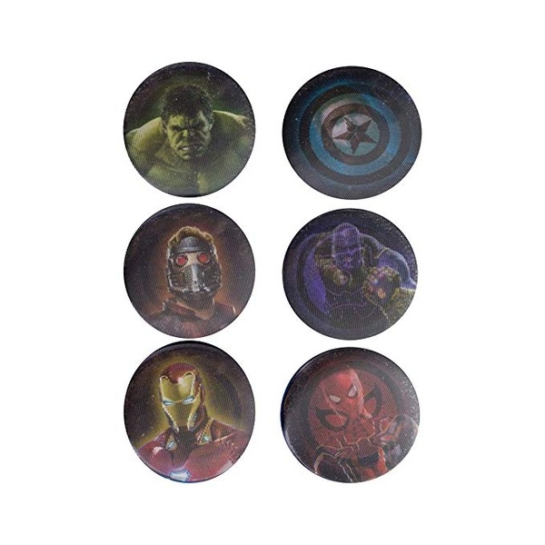 Avengers Infinity War Pin Badges