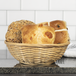 Willow Bread Baskets - Set of 6 | M&W - Image 4