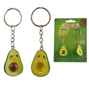Collectable Set of 2 Avocado Keyrings