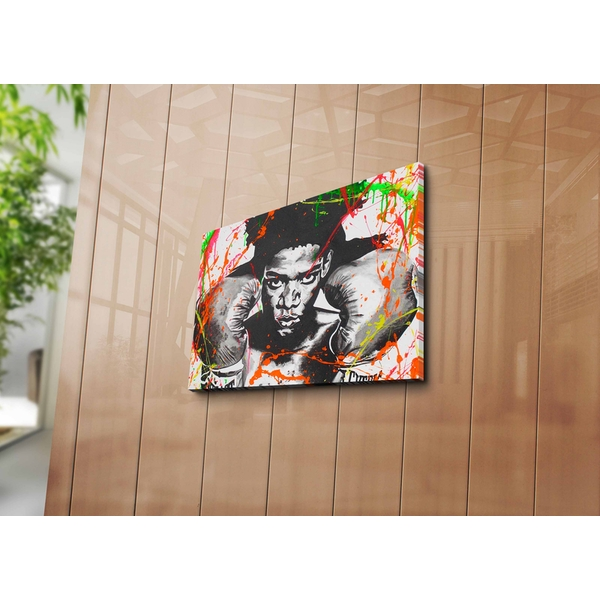 3040ABSWC-02 Multicolor Decorative Canvas Painting