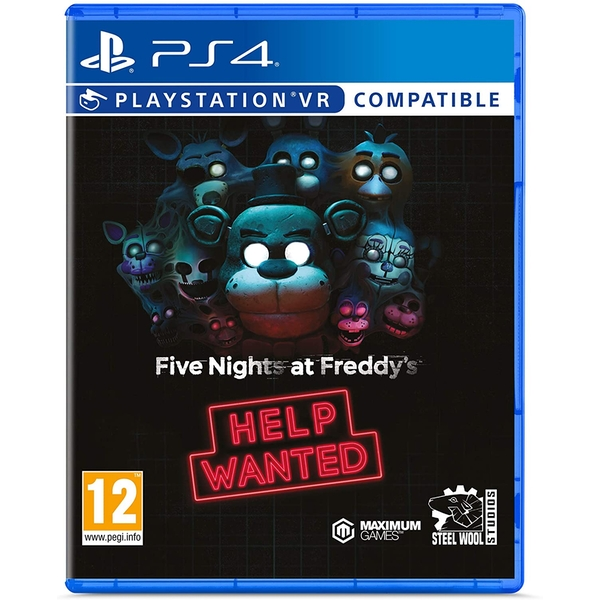Five Night's at Freddy's Help Wanted PS4 Game (PSVR Compatible)