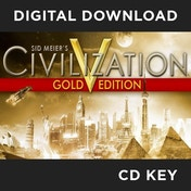 Sid Meier's Civilization V 5 Gold Edition PC CD Key Download for Steam