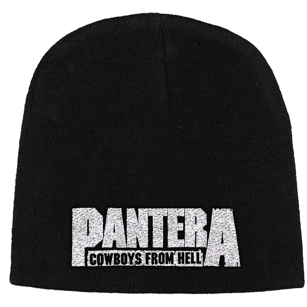 Pantera - Cowboys from Hell Unisex Beanie Hat - Black