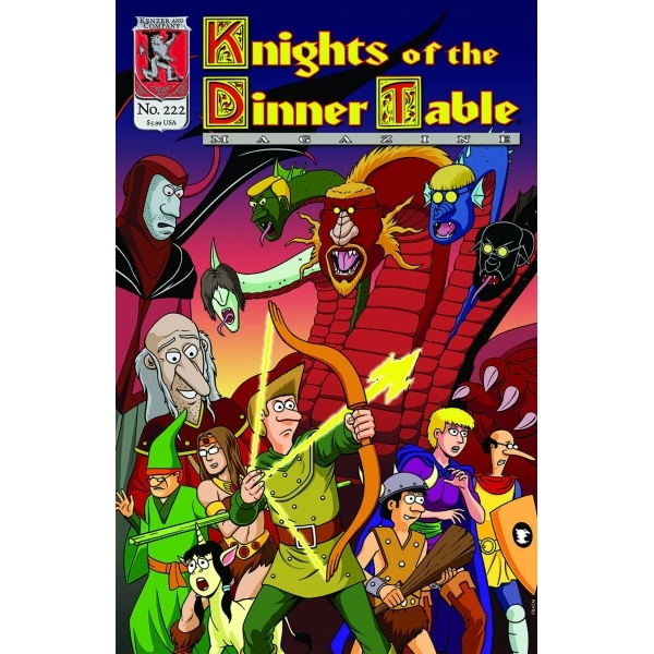 Knights of the Dinner Table Issue # 222