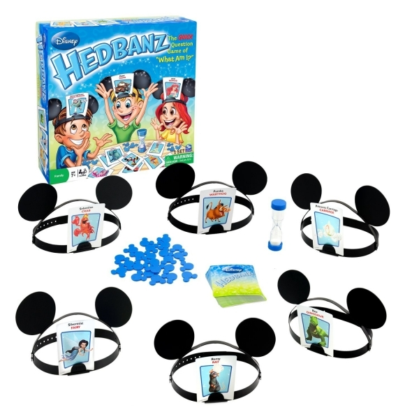 Disney Hedbanz For Kids Board Game
