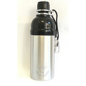 Long Paws Silver Stainless Steel 500ml Pet Water Bottle