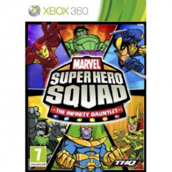 Marvel Super Hero Squad The Infinity Gauntlet Game Xbox 360