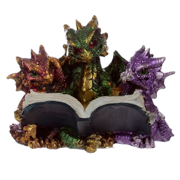 Elements Triple Baby Dragons Reading