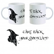 The Hobbit Gandalf Homeland Mug ZT
