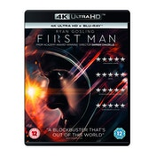 First Man 4KUHD   Blu-ray