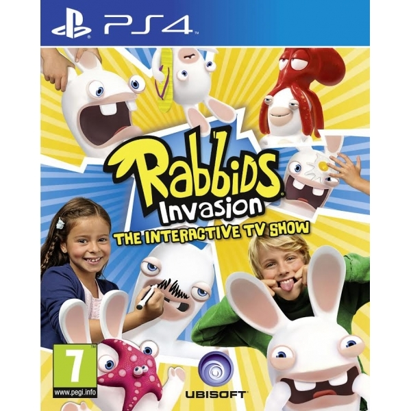 Rabbids Invasion The Interactive TV Show PS4 Game