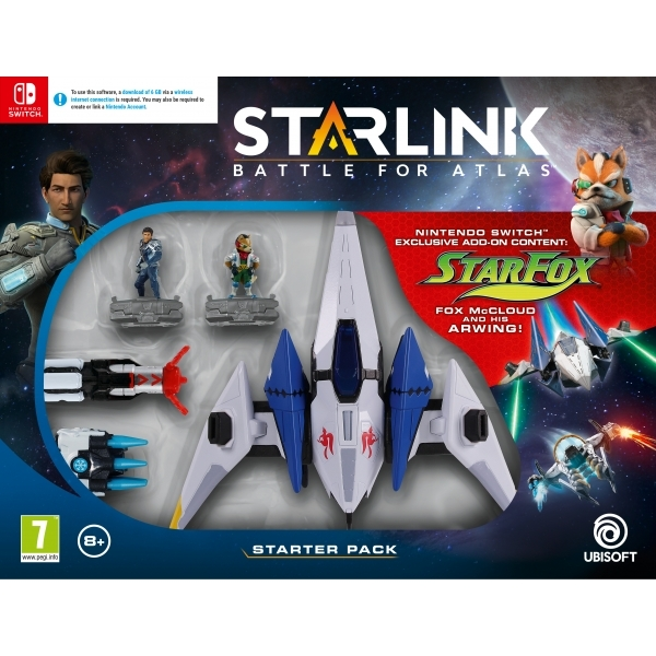 Ex-Display Starlink Battle For Atlas Starter Pack Nintendo Switch Game Used - Like New