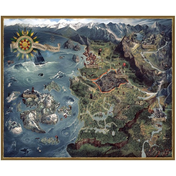 Witcher 3 Wild Hunt Puzzle Northern Realms Map
