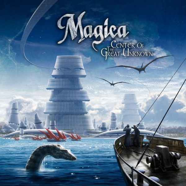 Magica - Center Of The Great Unknown CD