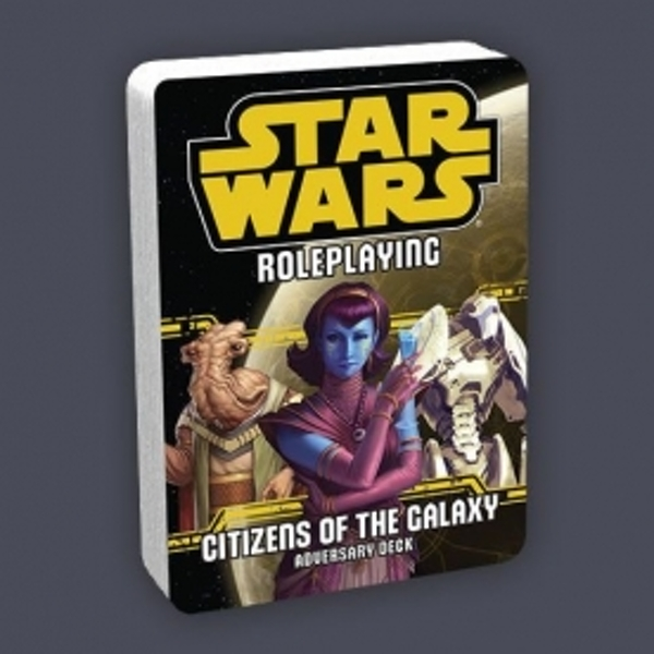 Star Wars Roleplaying Citizens of the Galaxy Adversary Deck