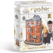 Harry Potter Diagon Alley - Weasleys' Wizard Wheezes 3D Jigsaw Puzzle - 62 Pieces