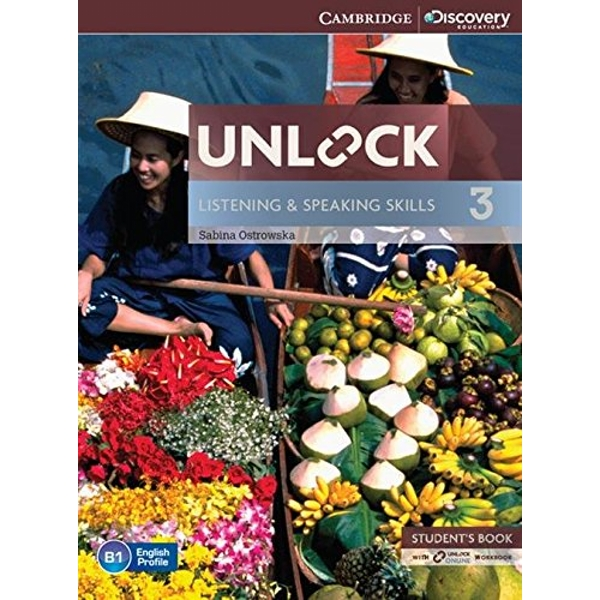 Unlock Level 3 Listening and Speaking Skills Student's Book and Online Workbook  Mixed media product 2014