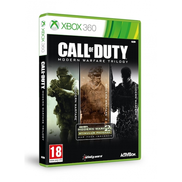Call Of Duty Modern Warfare Trilogy Xbox 360 Game