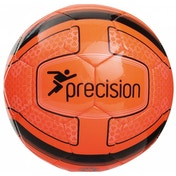 Precision Santos Training Ball Fluo Orange/Black Size 3