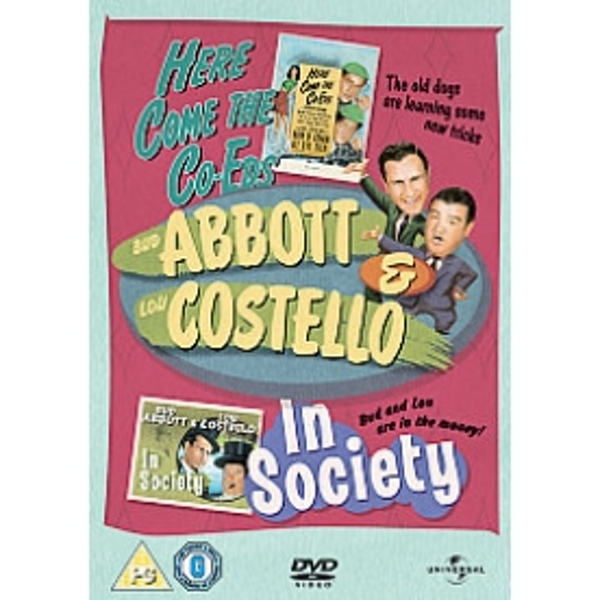 Abbott And Costello Here Comes The Co Eds In Society DVD