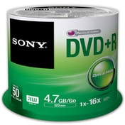 Sony 50 X 4.7GB DVD R IN SPINDLE