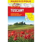 Tuscany Marco Polo Holiday Map by Marco Polo (Sheet map, folded, 2013)