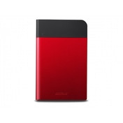 BUFFALO MiniStation Extreme Water&Dust Resistant USB 3.0 1TB Portable HDD Red