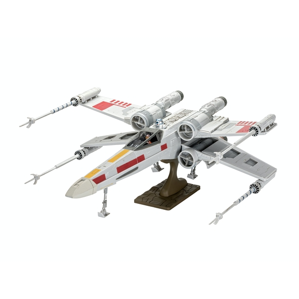 X-Wing Fighter (Star Wars) 1:29 Scale Level 2 Revell Easy Click Model Kit