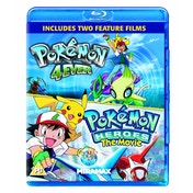 Pokemon Forever & Pokemon Heroes Blu-ray