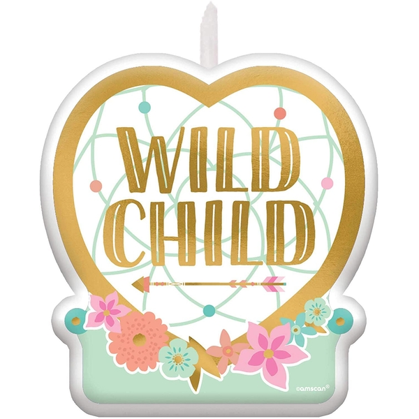 Birthday Candle Wild Child
