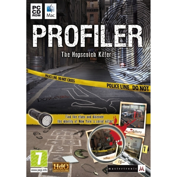 Profiler The Hopscotch Killer Game PC