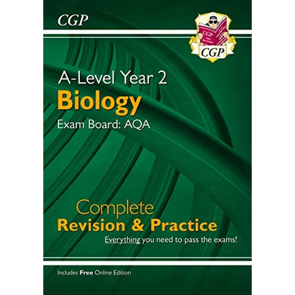 New A-Level Biology: AQA Year 2 Complete Revision & Practice with Online Edition  Paperback / softback 2018