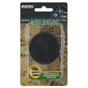 WizKids Deep Cuts Unpainted Miniatures: Black 50mm Round Base 10 ct.