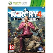 (USED) Far Cry 4 Limited Edition Xbox 360 Game Used - Like New