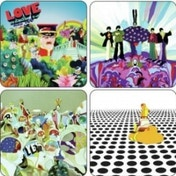The Beatles Yellow Submarine Coaster 4 Pack