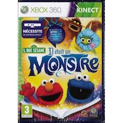 Kinect Sesame Street Once Upon A Monster Game Xbox 360 (French Packaging)