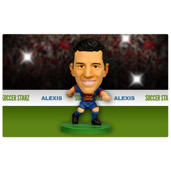 Soccerstarz Barcelona Home Kit Alexis Sanchez