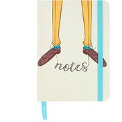 Brogues A6 Notebook Pack Of 6