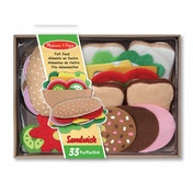 Melissa & Doug Felt Food Sandwich Set (13954)