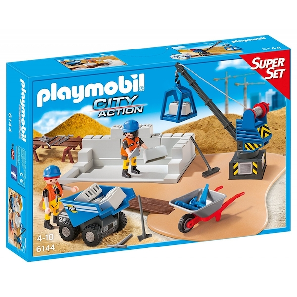 Playmobil City Action Construction Site Super Set