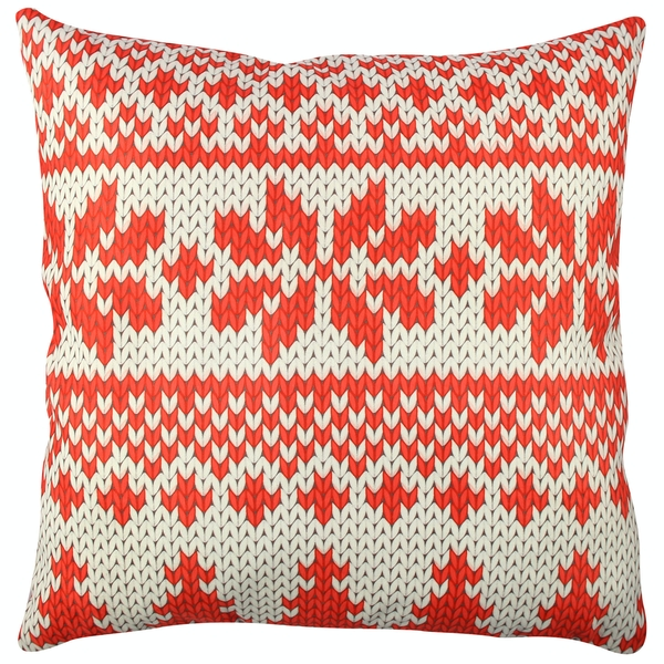 A11841 Multicolor Cushion Christmas Red & White