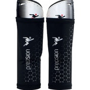 Precision Matrix ShinPads (with Sleeve) Large White/Black/Red