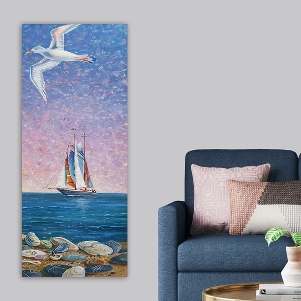 DKY21101741929_50120 Multicolor Decorative Canvas Painting