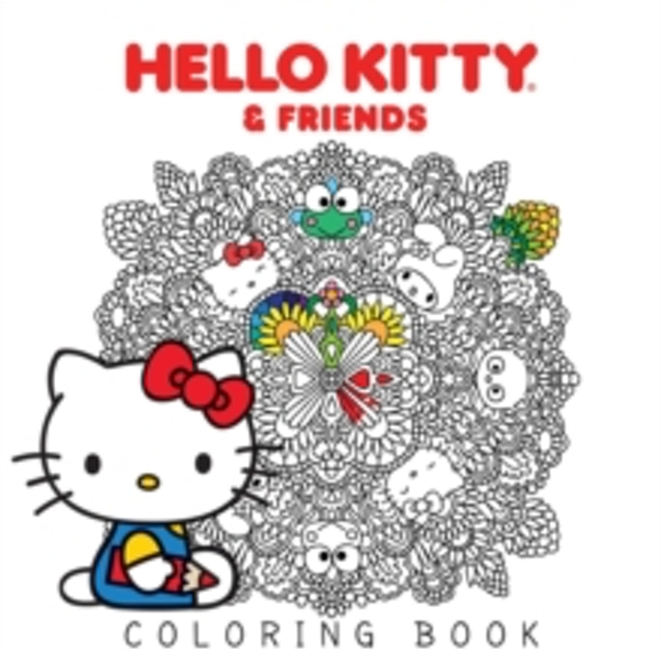 Hello Kitty & Friends Coloring Book : 1