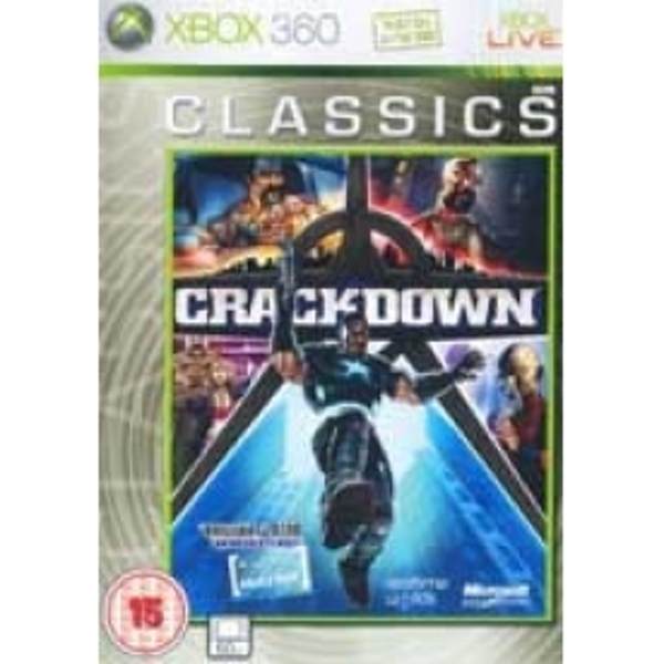 Ex-Display Crackdown (Classics) Game Xbox 360 Used - Like New