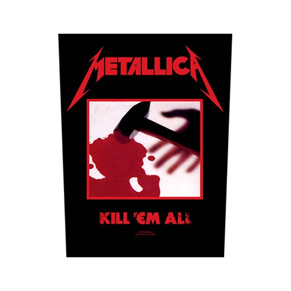 Metallica - Kill 'em all Back Patch